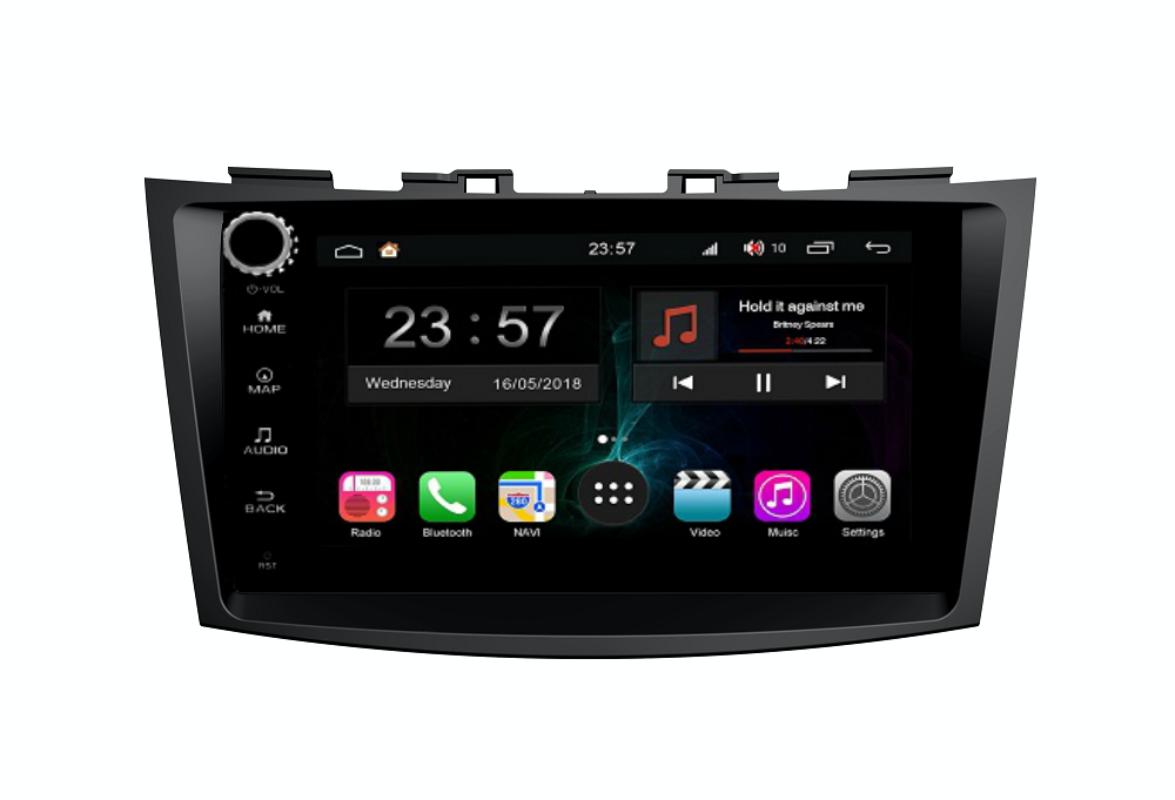 Штатная магнитола FarCar s300-SIM 4G для Suzuki Swift 2011+ на Android (RG179RB) (+ Камера заднего вида в подарок!)