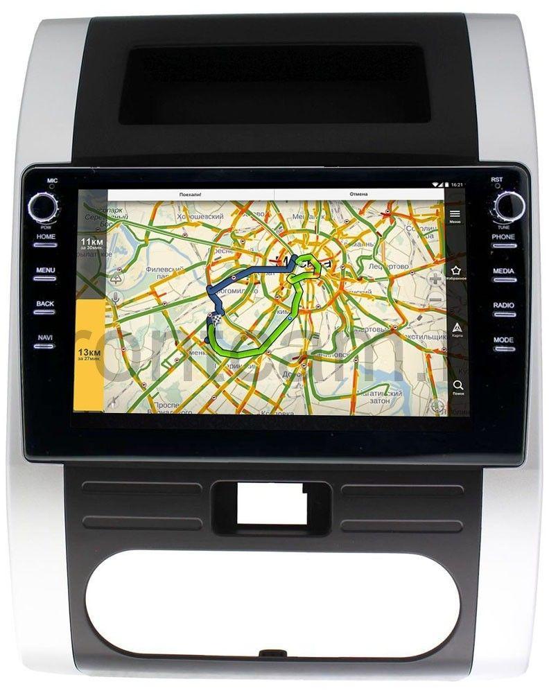 Штатная магнитола LeTrun 3149-1011 для Nissan X-Trail II (T31) 2007-2014 на Android 10 (DSP 2/16 с крутилками) (+ Камера заднего вида в подарок!)
