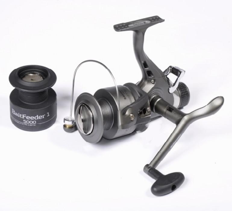 Катушка Salmo Sniper BAITFEEDER 1 5000BR катушка для рыбалки salmo sniper baitfeeder 1 6000br