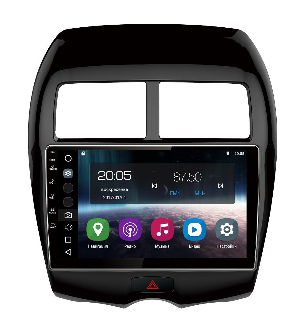Штатная магнитола FarCar s200 для Mitsubishi Asx, Peugeot 4008, Citroen Aircross на Android (V026R) seintex 82186 mitsubishi asx citroen aircross peugeot 4008