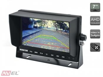 Парковочный монитор 7 для грузовиков и автобусов AVS4714BM (AHD)