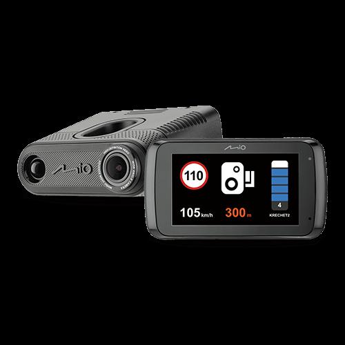 Видеорегистратор с радар-детектором Mio MiVue i95 (+ Антисептик-спрей для рук в подарок!)