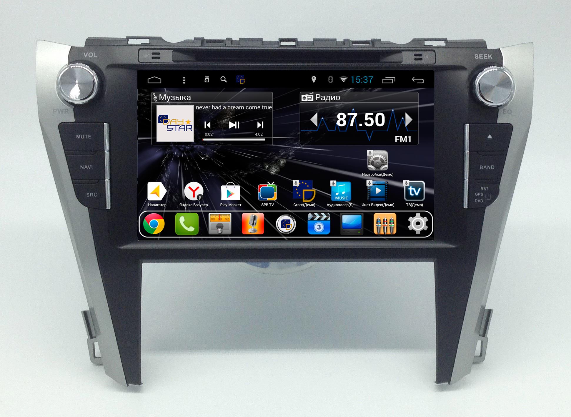 Штатная магнитола DayStar DS-7044HD Toyota Camry V55