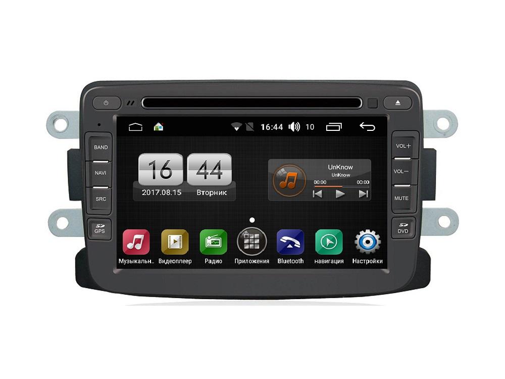 Штатная магнитола FarCar s170 для Renault Duster, Sandero, Logan, Lada XRAY на Android (L157) car android multimedia for dacia duster logan 2009 2013 radio cd dvd player gps navi map navigation audio video stereo system
