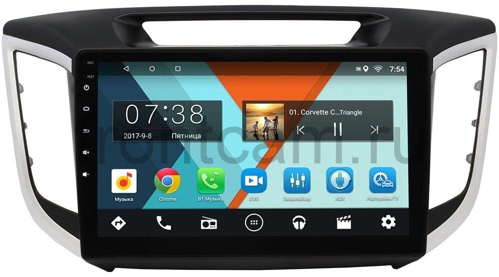 Штатная магнитола Hyundai Creta 2016-2019 Wide Media MT1028MF-2/16 на Android 7.1.1 для авто без камеры (+ Камера заднего вида в подарок!)