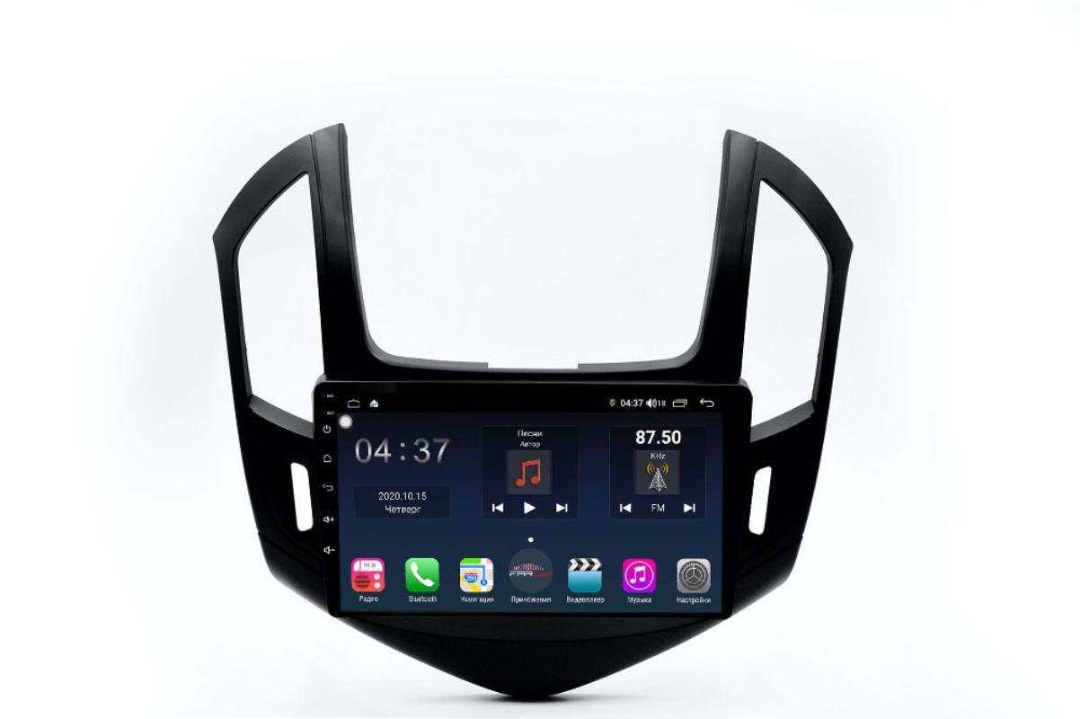 Штатная магнитола FarCar s400 для Chevrolet Cruze на Android (TG261R) (+ Камера заднего вида в подарок!)