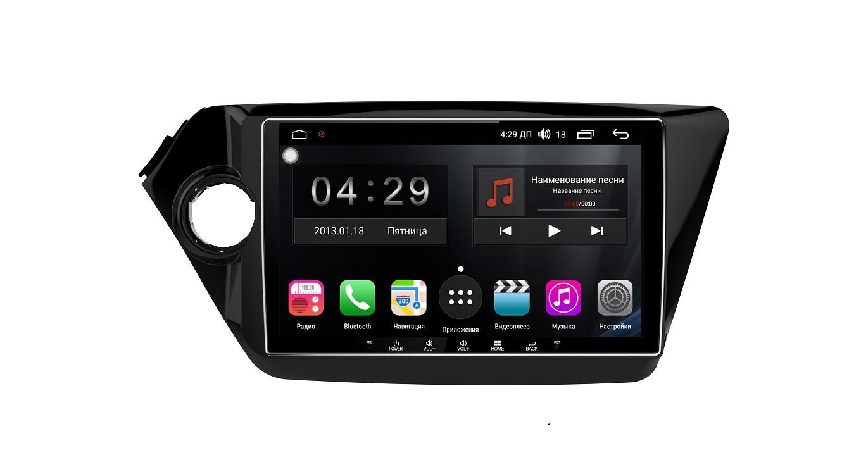 Штатная магнитола FarCar s300-SIM 4G для KIA Rio 2011+ на Android (RG106R) (+ Камера заднего вида в подарок!)