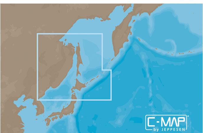 Карта C-MAP RS-N207 - Острова Хоккайдо и Сахалин
