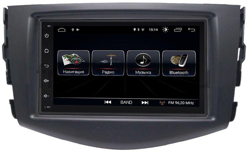 Штатная магнитола LeTrun 2380-RP-TYRV3Xb-13 для Toyota RAV4 (XA30) 2006-2013 Android 8.0.1 MTK-L