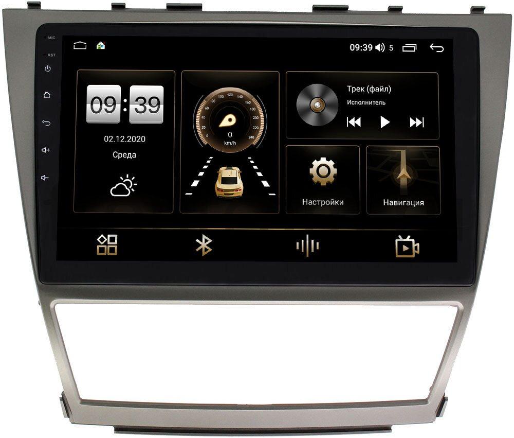 Штатная магнитола Toyota Camry V40 2006-2011 LeTrun 4165-1063 на Android 10 (4G-SIM, 3/32, DSP, QLed) (+ Камера заднего вида в подарок!)