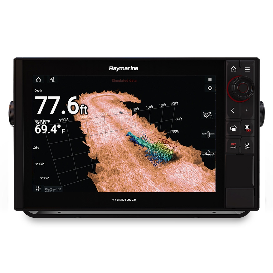 Многофункциональная система навигации Raymarine AXIOM 12 Pro-RVX with 1kW Sonar, DV, SV, RealVision 3D