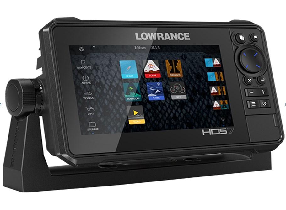 цена на Картплоттер-эхолот Lowrance HDS-7 LIVE без датчика (+ Леска в подарок!)