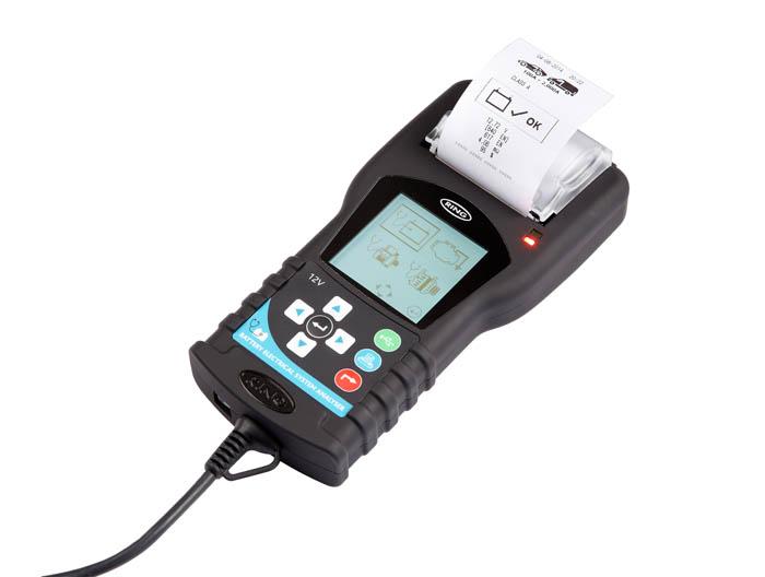 Тестер АКБ цифровой с графическим анализатором и принтером Ring Automotive RBAG700 радиоуправляемый напряжение lipo батареи метр тестер индикатор 2 6 клеток светодиодные панели вольтметр