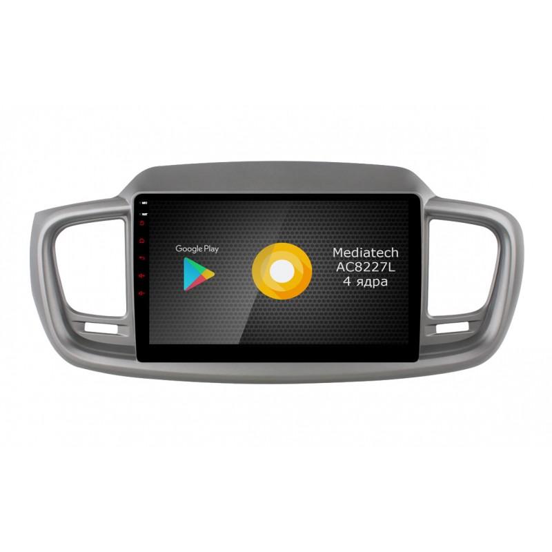 Штатная магнитола Roximo S10 RS-2317-N18 для KIA Sorento 3 Prime (Android 9.0) (+ Камера заднего вида в подарок!)