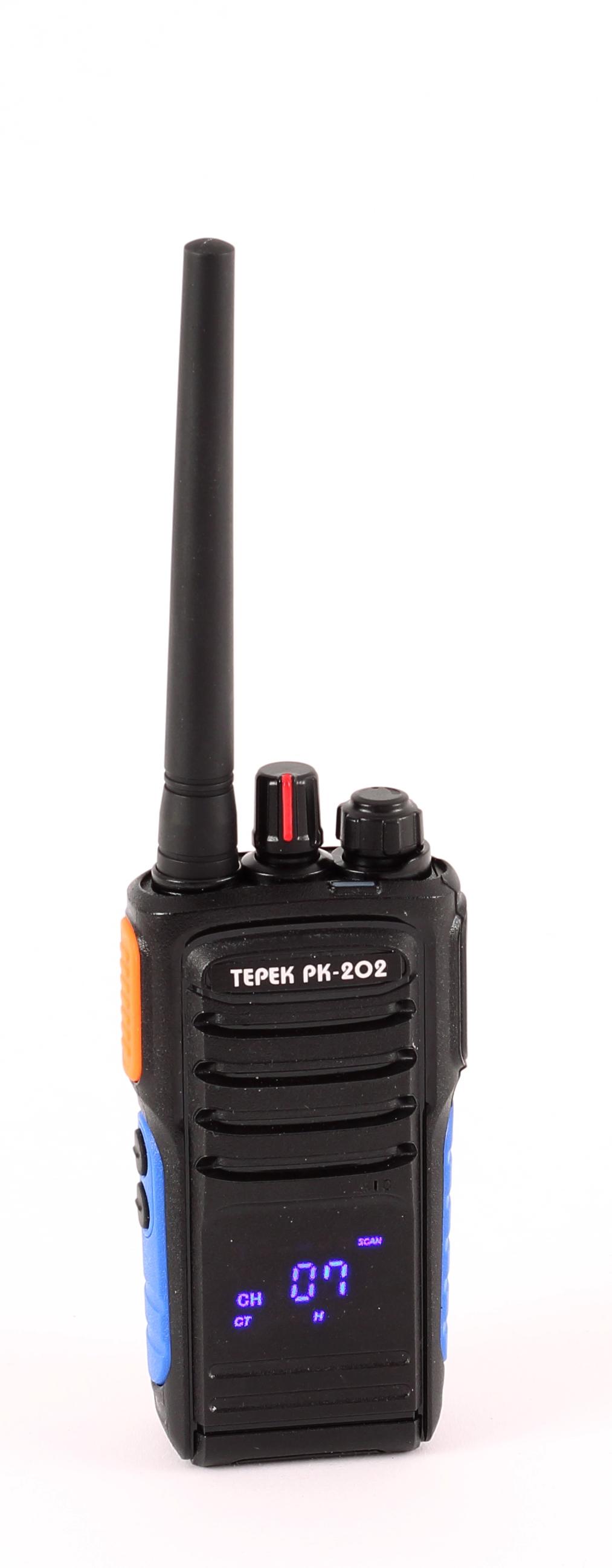 Портативная рация Терек РК-202 VHF (+ Гарнитура в подарок!)