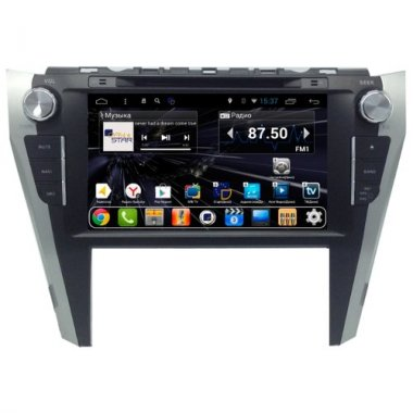 Штатная магнитола DayStar DS-7044HD Toyota Camry V55 2014+ ANDROID 7.1.2 (8 ядер, 2Gb ОЗУ, 32Gb памяти)