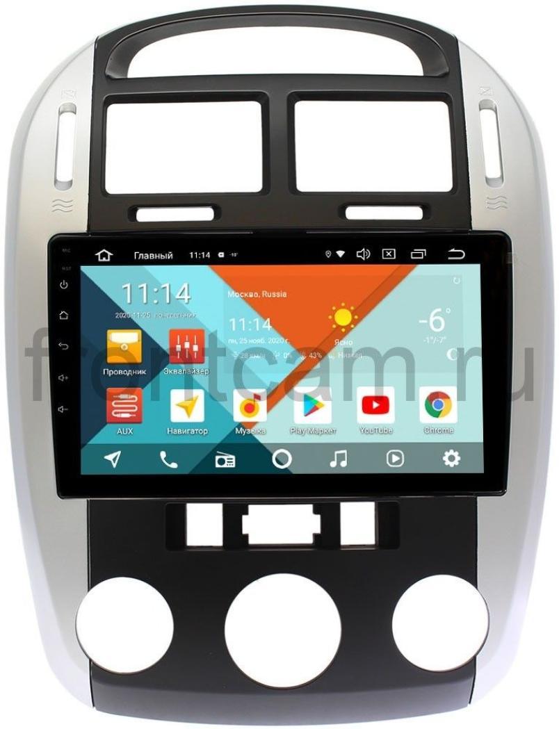 Штатная магнитола Kia Cerato I 2003-2008 Wide Media KS9143QM-2/32 DSP CarPlay 4G-SIM Android 10 (с кондиционером) (+ Камера заднего вида в подарок!)
