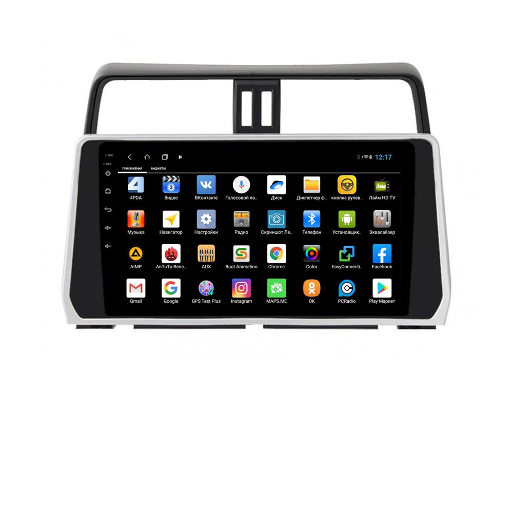 Фото - Штатная магнитола Parafar для Toyota Land Cruiser Prado 150 2017+ Android 8.1.0 (PF348XHD) (огромный экран) (+ Камера заднего вида в подарок!) штатная магнитола parafar для toyota lc100 1998 2003 android 8 1 0 pf450xhd камера заднего вида в подарок