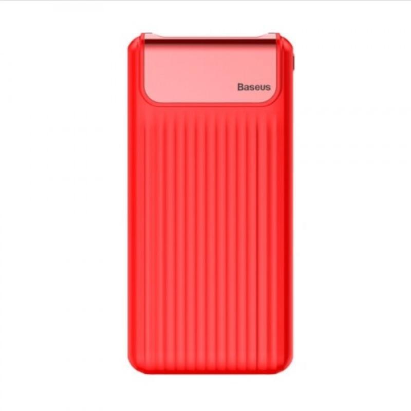 Внешний аккумулятор с быстрой зарядкой Baseus Mini Q PD QC 20000mAh Red rivacase va2070 20000mah qc pd черный