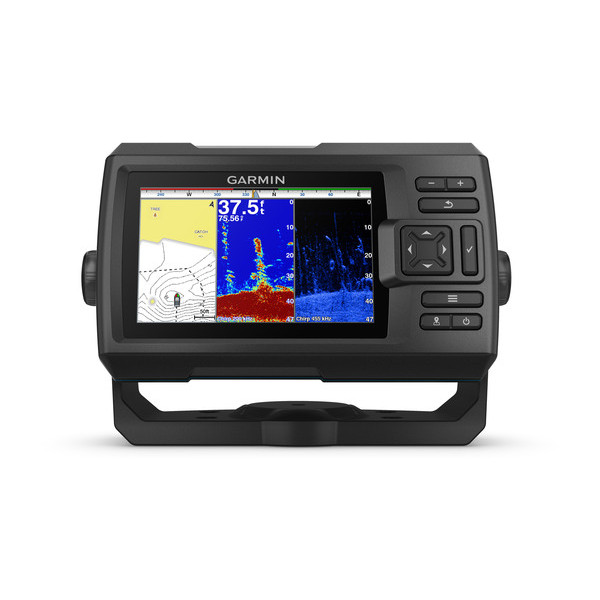 Эхолот Garmin STRIKER Plus 5cv с датчиком GT20-TM garmin эхолот striker 5dv