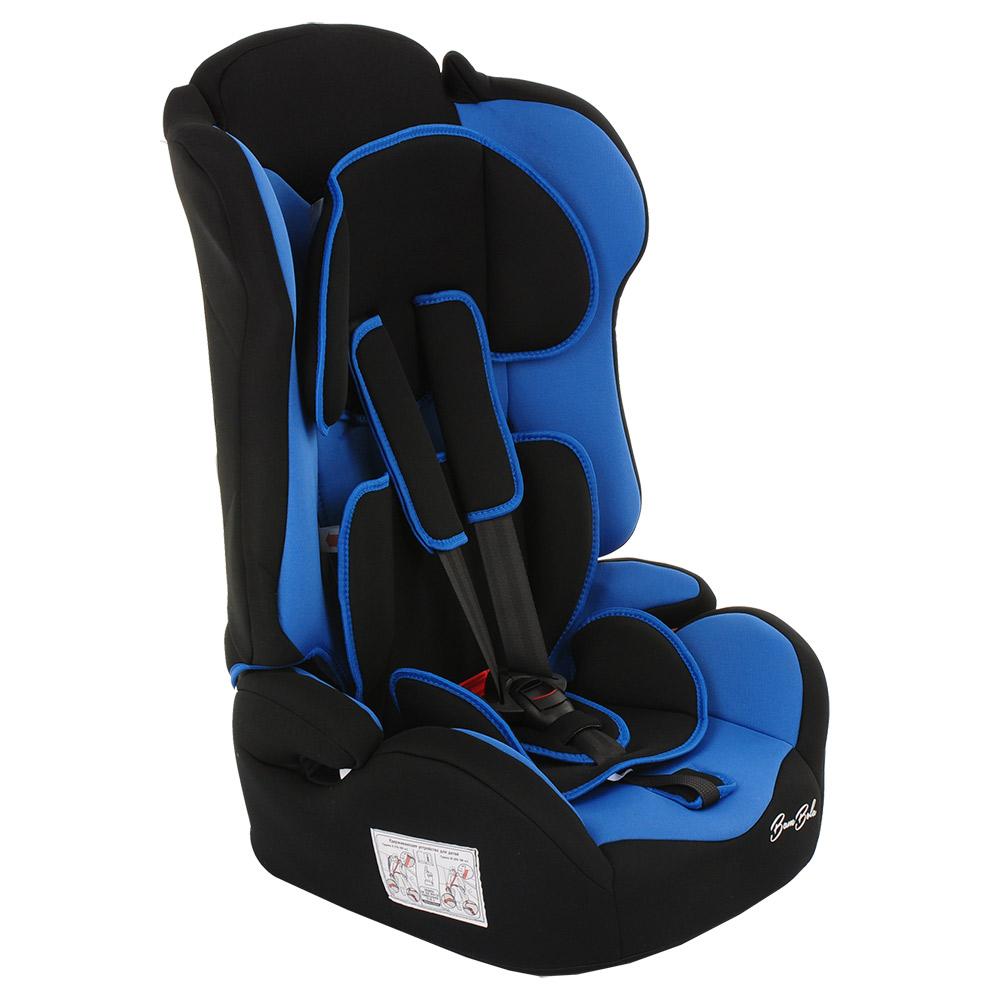 Фото - Автокресло BAMBOLA PRIMO Черный/Синий (+ Солнцезащитные шторки в подарок!) автокресло группа 0 1 до 18 кг bambola bambino черный синий