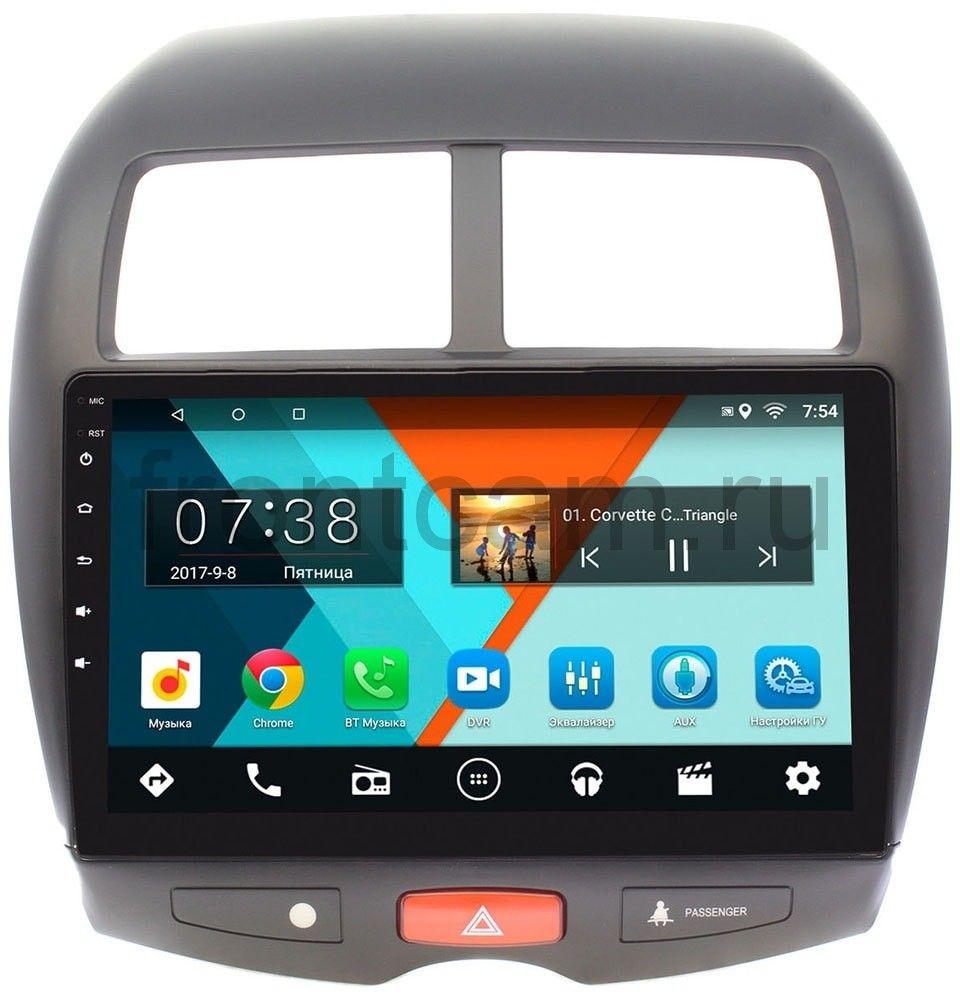 Штатная магнитола Mitsubishi ASX I 2010-2018 Wide Media MT1032MF-2/16 на Android 7.1.1 (+ Камера заднего вида в подарок!) штатная магнитола mitsubishi asx i 2010 2018 wide media mt7001 rp mmasx 69 на android 7 1 1 камера заднего вида в подарок