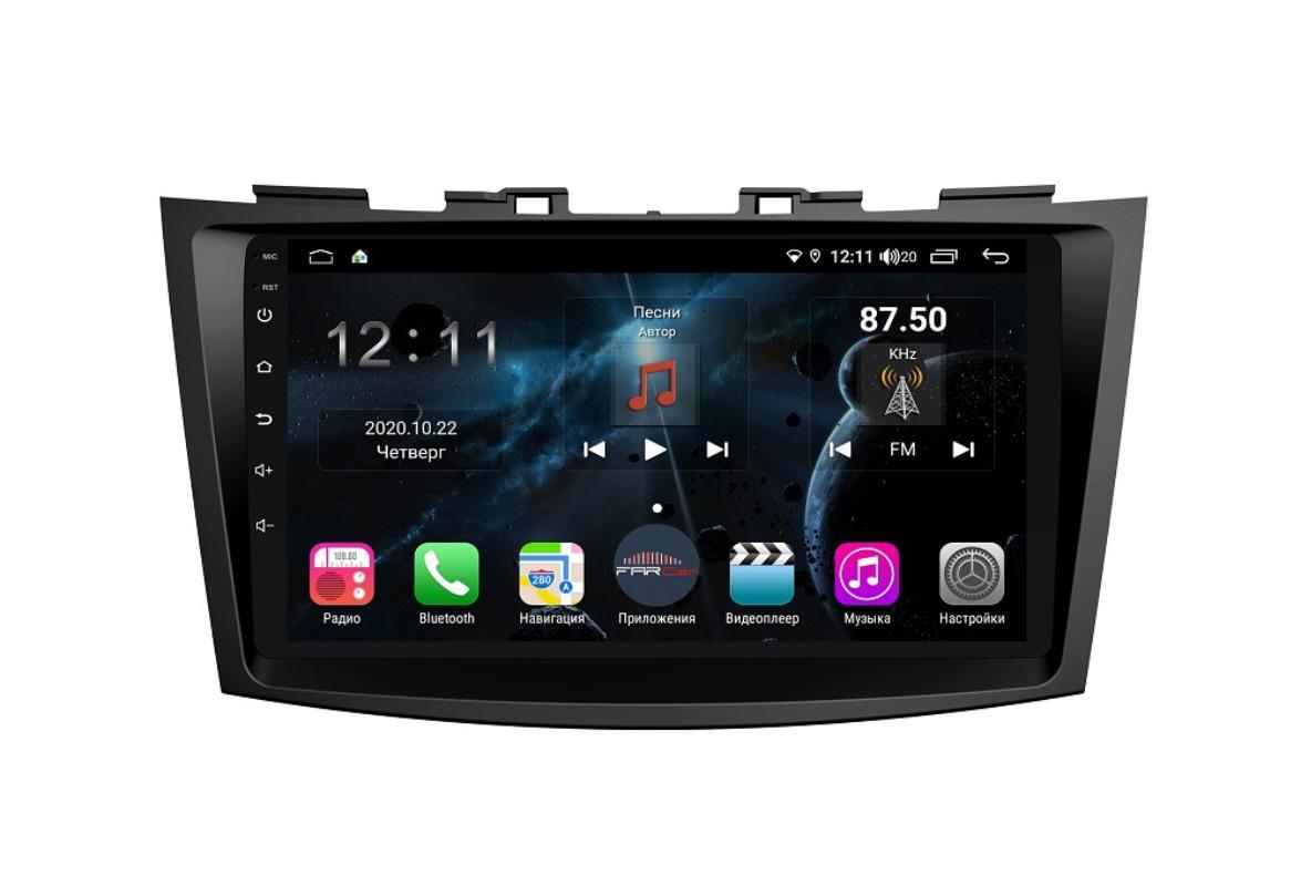 Штатная магнитола FarCar s400 для Suzuki Swift 2011+ на Android (TG179R) (+ Камера заднего вида в подарок!)