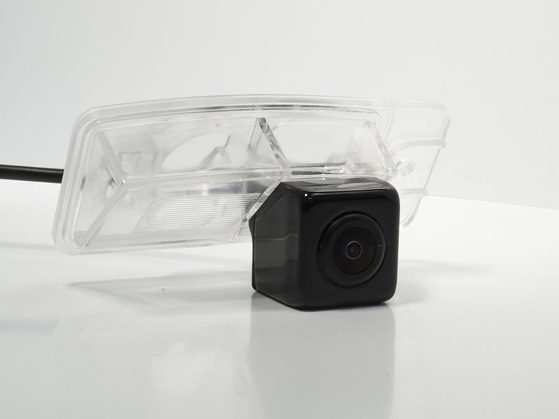 CCD штатная камера заднего вида c динамической разметкой AVIS AVS326CPR (#166) для Nissan QASHQAI II (2014-…) / X-TRAIL III