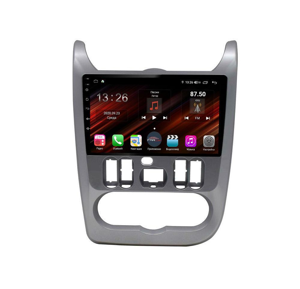 Штатная магнитола FarCar s400 Super HD для Renault Logan, Sandero на Android (XH752R) (+ Камера заднего вида в подарок!)