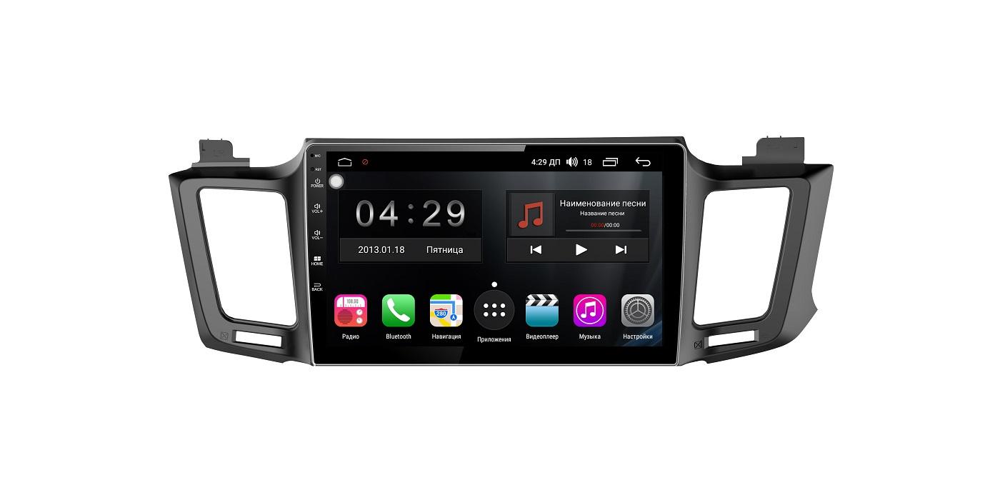 Штатная магнитола FarCar s300-SIM 4G для Toyota RAV-4 2013+ на Android (RG468R) (+ Камера заднего вида в подарок!)