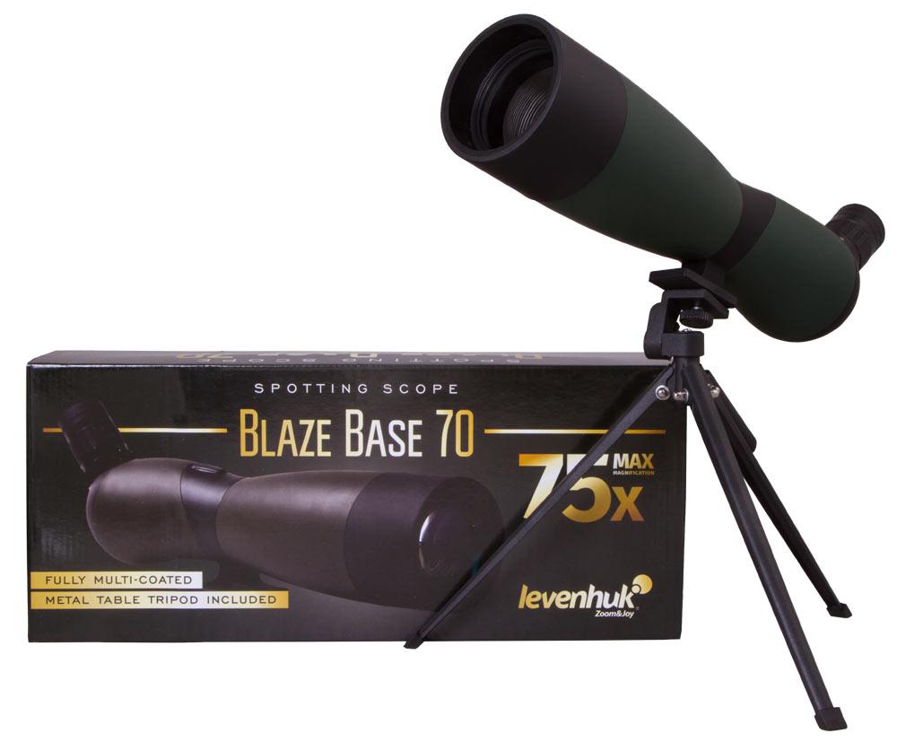 цена Зрительная труба Levenhuk Blaze BASE 70 (+ Салфетки из микрофибры в подарок) онлайн в 2017 году