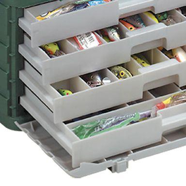 цена на Ящик Plano 758-005 с выдвижными полками с большим отсеком для хранения аксессуаров