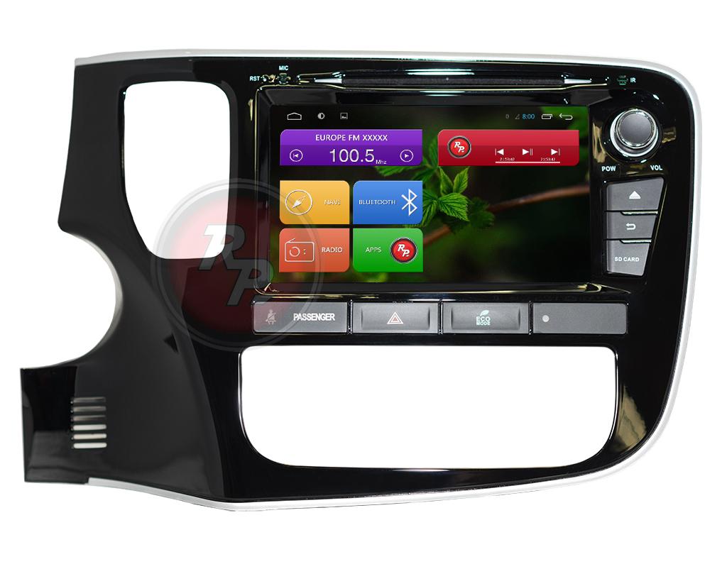 Штатная магнитола RedPower 31156 IPS Mitsubishi Outlander (2012+) (с DVD приводом) штатная магнитола redpower 31082 ips bmw 3 серия 2009 2012 кузов e90 рестайл