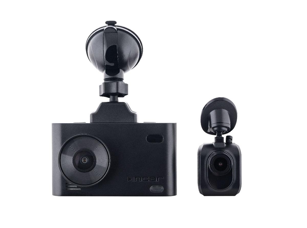 Комбо-устройство сигнатурного типа INCAR SDR-70 Baikal с 2 камерами Full HD (+ Антисептик-спрей для рук в подарок!)