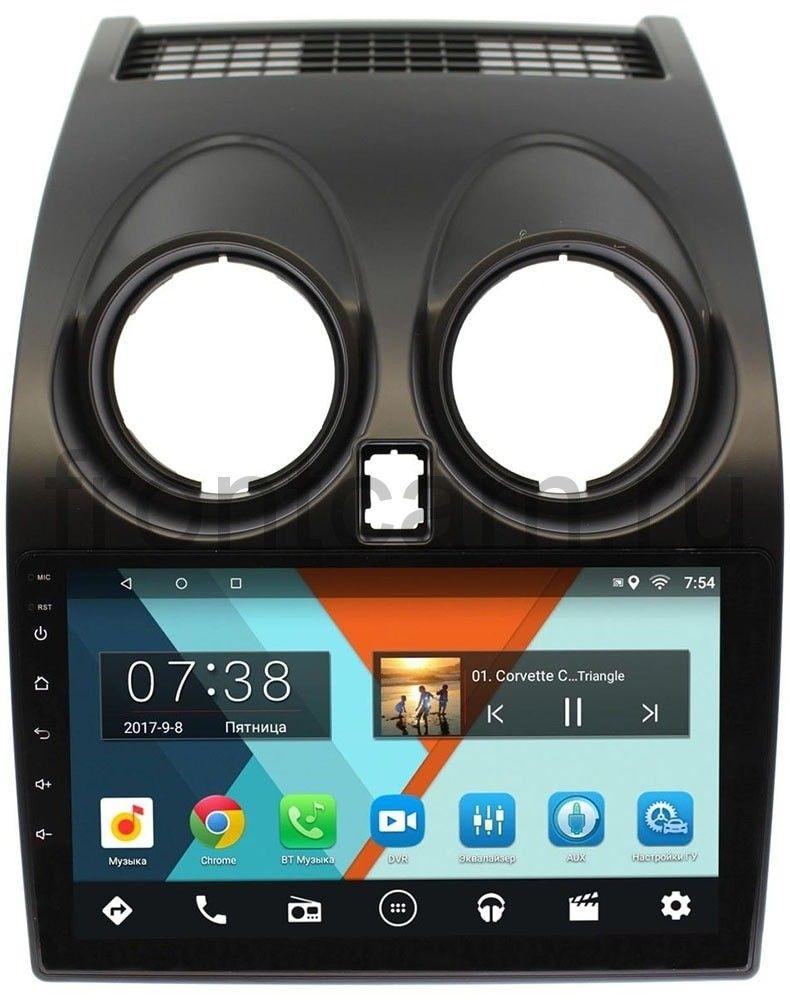Штатная магнитола Nissan Qashqai I 2007-2013 Wide Media MT9007MF-2/16 на Android 7.1.1 (+ Камера заднего вида в подарок!)