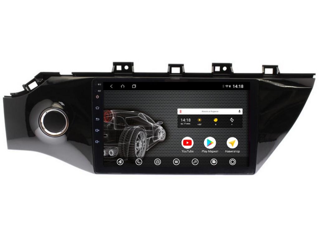 Головное устройство vomi ST6101-T3 для Kia Rio 2017+ (+ Камера заднего вида в подарок!)