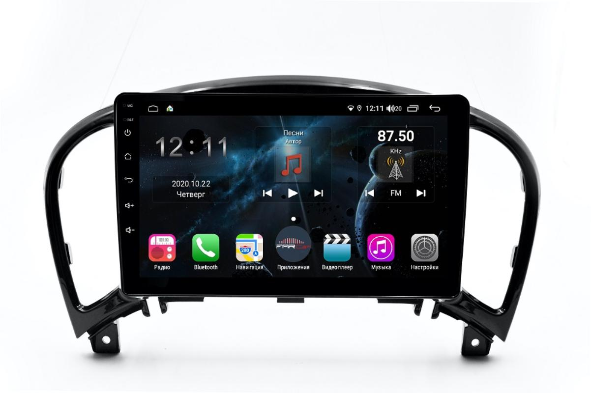 Штатная магнитола FarCar s400 для Nissan Juke на Android (H749R) (+ Камера заднего вида в подарок!)