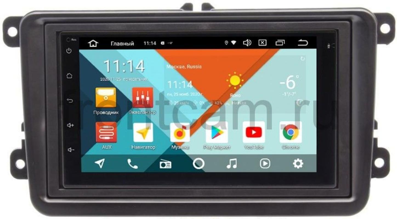 Штатная магнитола Seat Altea, Leon, Alhambra Wide Media KS7001QR-3/32-RP-VWTRN-22 на Android 10 (API 29) (DSP CarPlay 4G-SIM) (+ Камера заднего вида в подарок!)