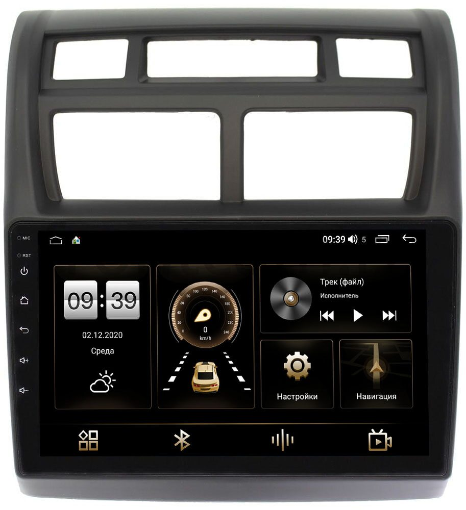 Штатная магнитола Kia Sportage II 2008-2010 LeTrun 3792-9049 на Android 10 (4/64, DSP, QLed) С оптическим выходом (+ Камера заднего вида в подарок!)