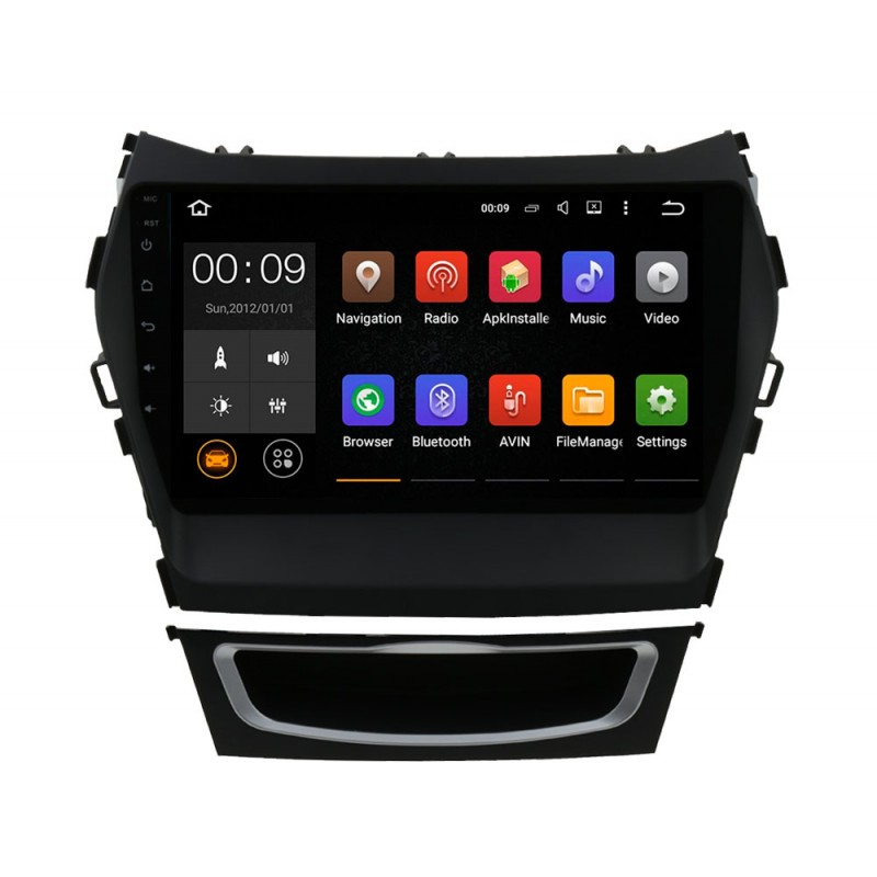 Штатная магнитола Roximo 4G RX-2019 для Hyundai SantaFe 3 (Android 6.0) m8 fully loaded xbmc amlogic s802 android tv box quad core 2g 8g mali450 4k 2 4g 5g dual wifi pre installed apk add ons
