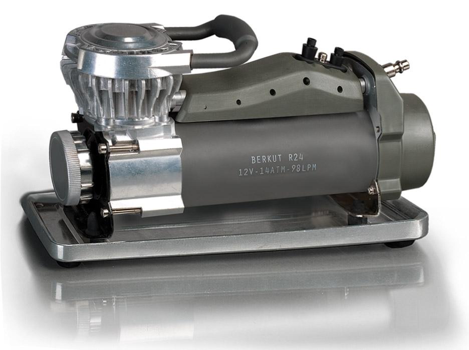 Компрессор автомобильный Беркут R24 компрессор для шин 12v 14