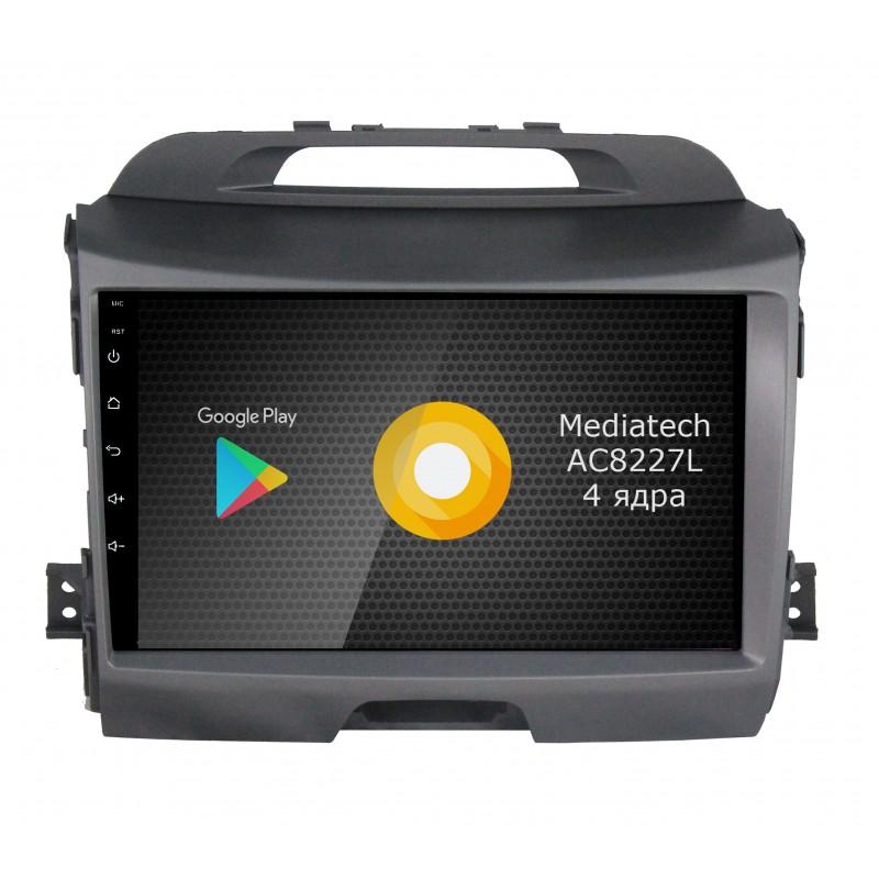 Фото - Штатная магнитола Roximo S10 RS-2313 для KIA Sportage 3 (Android 8.1) (+ Камера заднего вида в подарок!) видео