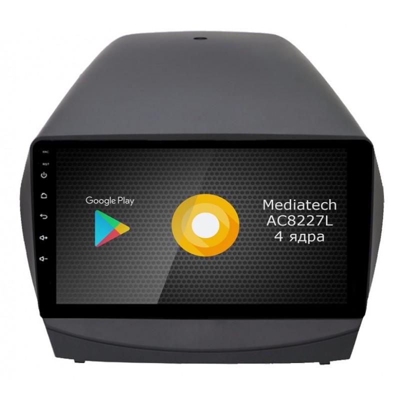 Штатная магнитола Roximo S10 RS-2002 для Hyundai ix35 (Android 8.1)Roximo<br>Штатное головное устройство на базе Mediatech AC8227L Quad Core, 1.0-1.2GHz (четыре ядра) разработан именно для использования в автомобильной промышленности, система оптимизирована таким образом, что 2Гб оперативной памяти хватает для стабильной работы всех необходимых приложений, используемых в автомобиле - онлайн навигации, радаров, радио/музыки/видео.