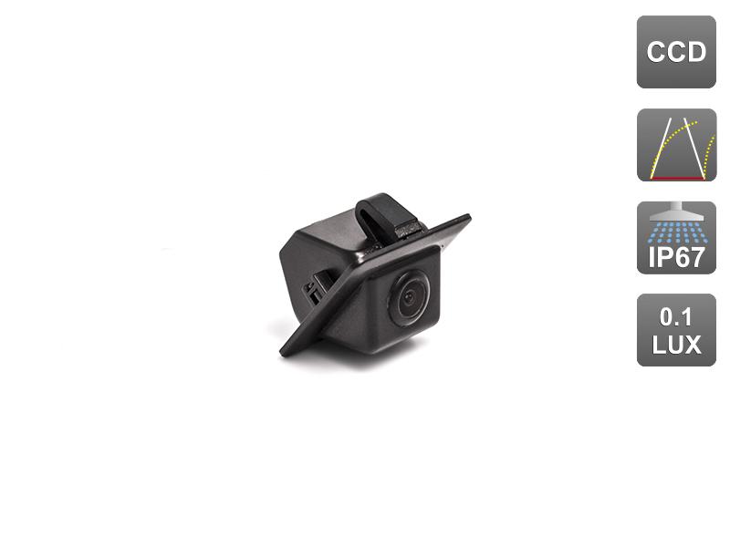 CCD штатная камера заднего вида с динамической разметкой AVIS Electronics AVS326CPR (#096) для TOYOTA LAND CRUISER PRADO 150 штатная магнитола carmedia mkd 1040 dvd toyota land cruiser prado 150 2013 2016 поддержка кругового обзора