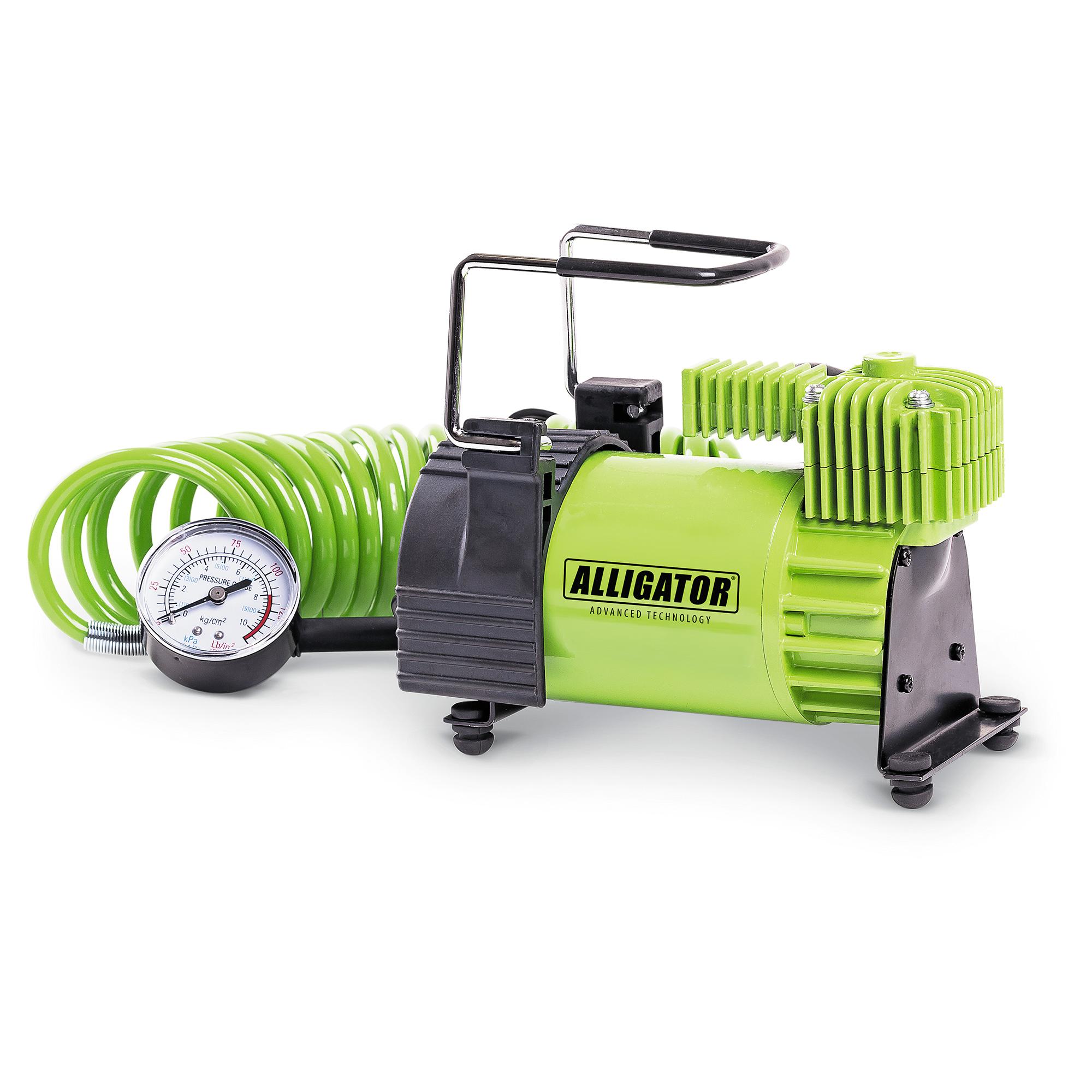 Компрессор автомобильный Аллигатор AL-400 (+ Мешки для колёс в подарок!) автомобильный компрессор аллигатор al 350