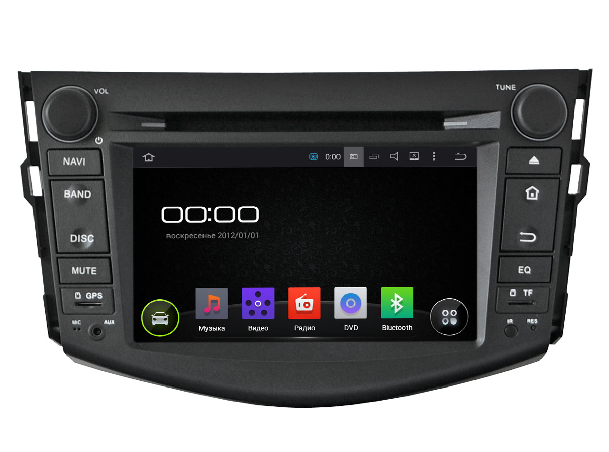 Штатная магнитола Incar AHR-2253 Toyota RAV4 (2006-2012) Android 5.1 ssangyong actyon ос андроид intro incar ahr 7781 sy