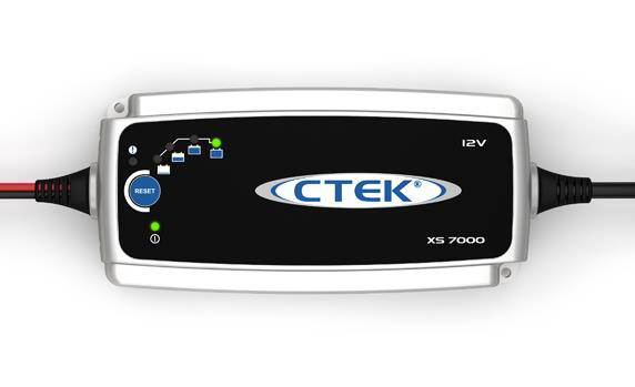 Зарядное устройство CTEK XS 7000 индикатор состояния акб с круглыми клеммами м6 ctek 56 629