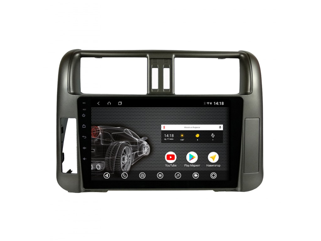 Головное устройство vomi ST2753-T3 для Toyota Prado 150 2010-2013 (+ Камера заднего вида в подарок!)