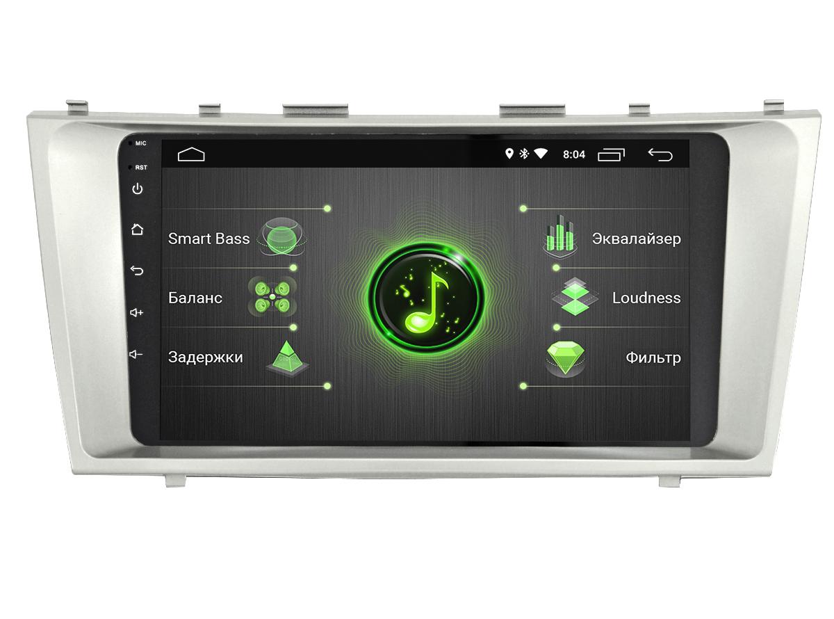 Штатная магнитола INCAR DTA-2211 для Toyota Camry (2006-2011 V40) Android 10 с процессором DSP (+ Камера заднего вида в подарок!)