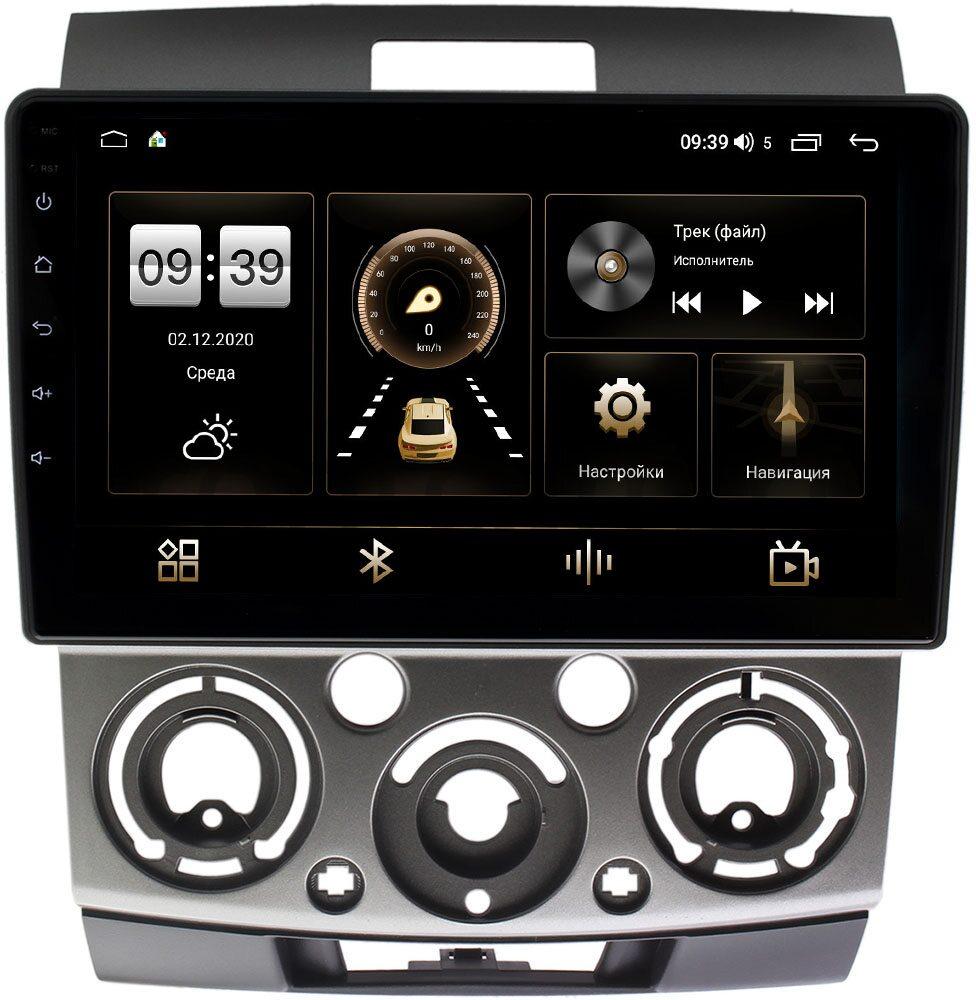 Штатная магнитола Mazda BT-50 I 2006-2011 LeTrun 4196-9139 на Android 10 (6/128, DSP, QLed) С оптическим выходом (+ Камера заднего вида в подарок!)